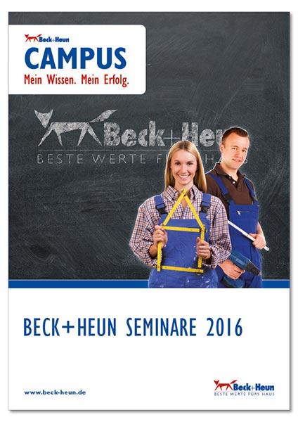 Thueringen-Infos.de - Thüringen Infos & Thüringen Tipps | Die neue CAMPUS-Broschüre steht auf der Internetpräsenz des Herstellers zum Download zur Verfügung (Quelle: Beck+Heun).