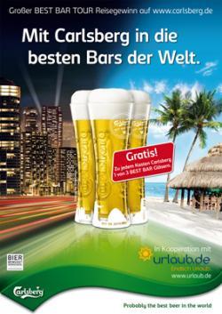 Bier-Homepage.de - Rund um's Thema Bier: Biere, Hopfen, Reinheitsgebot, Brauereien. | Foto: Mit großer Sommerpromotion feiern Carlsberg und STEIN zehn Jahre erfolgreiche Zusammenarbeit.