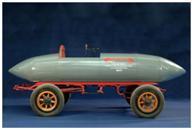 Alternative & Erneuerbare Energien News: Foto: Eine Reproduktion des Apollo-Originals, das 1969 im Forschungsinstitut von General Motors im Auftrag von Boeing Aerospace Corporation in nur 17 Monaten entwickelt und gebaut wurde, wird zusammen mit anderen Elektromobilen auf dem Messegelände in der Rothaus Halle/ A1 zu sehen sein.