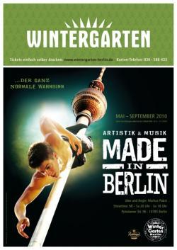 Berlin-News.NET - Berlin Infos & Berlin Tipps | Foto: Die neue Show im Berliner Wintergarten ab 6. Mai 2010.