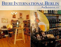 Bier-Homepage.de - Rund um's Thema Bier: Biere, Hopfen, Reinheitsgebot, Brauereien. | Foto: Biere International Berlin, Carmerstr. 8, 10623 Berlin.