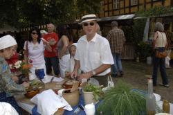 Foto: 8. Gurkenmarkt beim Lübbenauer Spreewald- & Schützenfest vom 2. bis 5. Juli 2009. |  Landwirtschaft News & Agrarwirtschaft News @ Agrar-Center.de