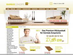 Fertighaus, Plusenergiehaus @ Hausbau-Seite.de | Hausbau & Einfamilienhaus - Foto: Screenshot des Online-Shops von Bambusconcepts.