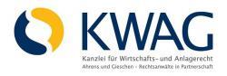 Ost Nachrichten & Osten News | Foto: Die KWAG – Kanzlei für Wirtschafts- und Anlagerecht Ahrens und Gieschen - Rechtsanwälte in Partnerschaft ist, als eine ausnahmslos auf die Vertretung von Anleger- und Verbraucherinteressen spezialisierte Kanzlei, mit dem eindeutigen Anspruch, bestehende Ungleichgewichte auf dem Kapitalanlagemarkt zu regulieren.