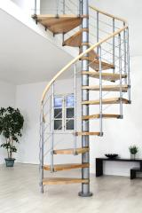 Fertighaus, Plusenergiehaus @ Hausbau-Seite.de | Bild: tdx/Treppen Intercon.