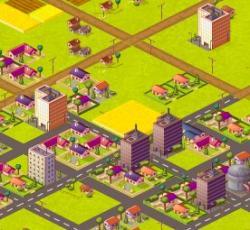 Browsergames News: Foto: Die Stadt von Online-Pionier Torsten Schwarz: http://absolit.myminicity.com.