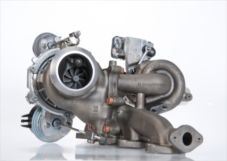 BorgWarners führende zweistufige, geregelte (R2S®) Aufladung verbessert die Drehmomententfaltung im unteren Drehzahlbereich, steigert Motorleistung und -effizienz und trägt zur Emissionsreduzierung für Jaguar Land Rover-Modelle mit dem neuen 2,0-Liter-I4-Dieselmotor bei. | Freie-Pressemitteilungen.de