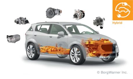Als globaler Produktführer im Bereich sauberer, effizienter Technologien für Fahrzeuge mit Verbrennungsmotor, Hybrid- und Elektroantrieb hat BorgWarner eines der breitesten Portfolios marktreifer Technologien für 48V-Mildhybride der Industrie entwickelt. | Freie-Pressemitteilungen.de