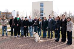 Ost Nachrichten & Osten News | Foto: Begrüßung der Austauschstudierenden zur Orientierungswoche an der Hochschule Harz (FH) durch Rektor Prof. Dr. Armin Willingmann (5.v.r.).