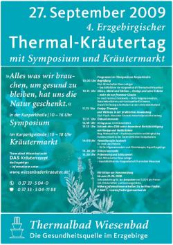Ost Nachrichten & Osten News | Ost Nachrichten / Osten News - Foto: Der 4. Erzgebirgischer Thermal-Kräutertag in Thermalbad Wiesenbad.