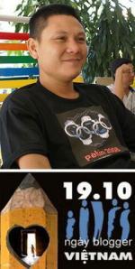 Ost Nachrichten & Osten News | Foto: Phan Thanh Hai, regimekritischer Blogger anhbaSg, in Haft, weil er am 19.10.2010