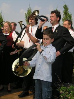 Landwirtschaft News & Agrarwirtschaft News @ Agrar-Center.de | Foto: Ein Programmpunkt des Landesjägertages 2009 ist der Pokalwettbewerb im Jagdhornblasen. Die Pflege der jagdlichen Tradition erfreut sich großer Beliebtheit - bei jung und alt.
