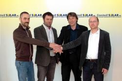 Alternative & Erneuerbare Energien News: Foto: Michael u. Christian Küsswetter, Stephan Eisenbeiß, Michael Rieder (von links nach rechts).