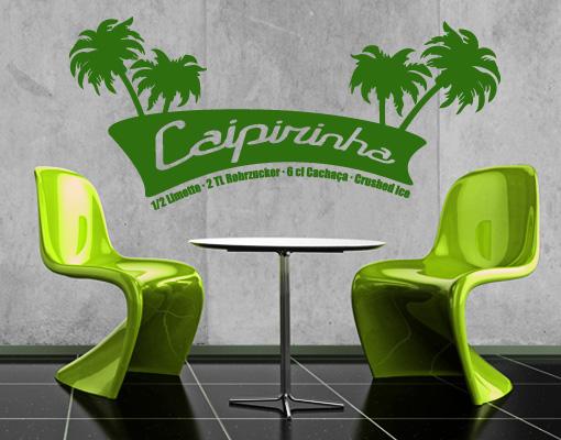 Restaurant Infos & Restaurant News @ Restaurant-Info-123.de | Caipirinha als Wandtattoo