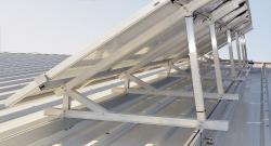 Alternative & Erneuerbare Energien News: Foto: WASI Solar und PV Montagesystem.