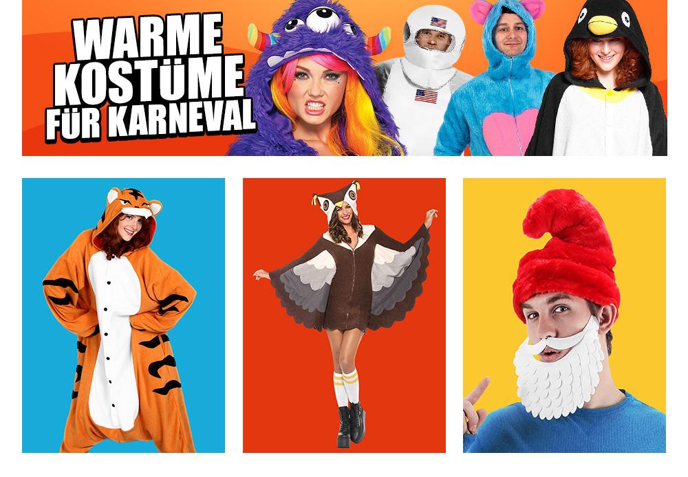 Gutscheine-247.de - Infos & Tipps rund um Gutscheine | Warme Kostüme für den Straßenkarneval
