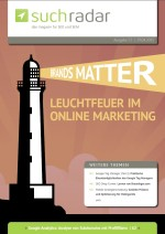 Suchmaschinenoptimierung & SEO - Artikel @ COMPLEX-Berlin.de | Foto: Ausgabe 53 vom deutschsprachigen Suchmaschinen-Magazin Suchradar