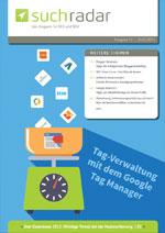 Suchmaschinenoptimierung / SEO - Artikel @ COMPLEX-Berlin.de | Foto: Cover der Ausgabe 52 vom deutschsprachigen Suchmaschinen-Magazin Suchradar