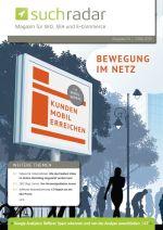Suchmaschinenoptimierung / SEO - Artikel @ COMPLEX-Berlin.de | Foto: Cover von Ausgabe 54 vom deutschsprachigen Suchmaschinen-Magazin Suchradar