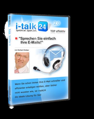 i-talk24 ist E-Mail Response Management, bei dem Zeitdiebe im Zeitmanagement keine Chance mehr haben