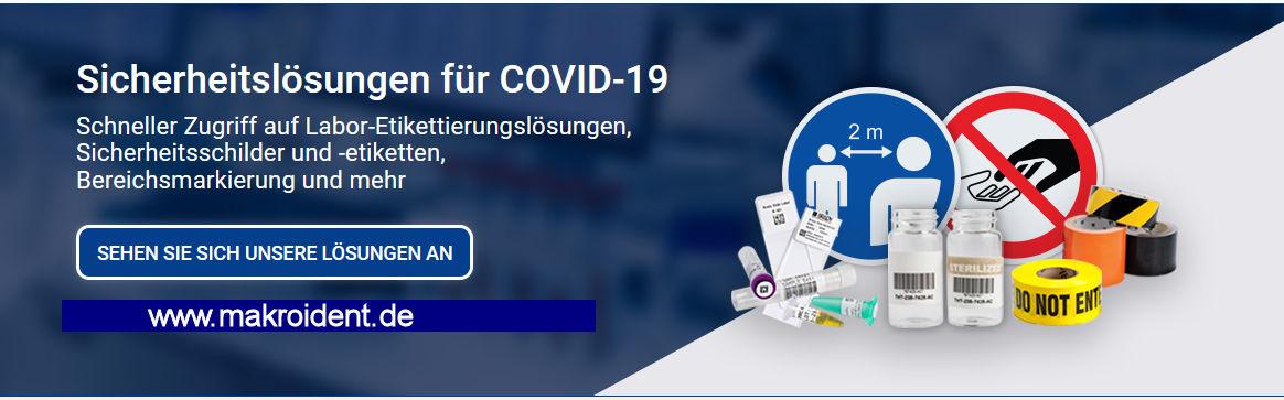 STOPP COVID-19 - Sicherheitslösungen für Betriebsstätten und Mitarbeiter
