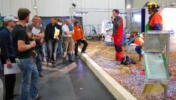 Landwirtschaft News & Agrarwirtschaft News @ Agrar-Center.de | Foto: Großes Interesse an den Vorführungen auf KWF-Eventfläche.