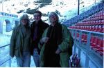 Drehbücher @ Drehbuch-Center.de | Foto: Jürg Schlachter (Regie), Marc-Philipp Knorr (Geschäftsführer) und Frank Chamier (Bühnenbild) hoffen, dass dieses Jahr mehr Zuschauer kommen.
