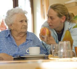 SeniorInnen News & Infos @ Senioren-Page.de | Foto: Wenn das Essen verlernt wird.