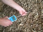 Landwirtschaft News & Agrarwirtschaft News @ Agrar-Center.de | Foto: Hackschnitzel Feuchtigkeitsmessgerät humimeter BLL.
