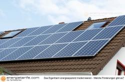Alternative & Erneuerbare Energien News: Foto: Das Eigenheim energiesparend modernisieren - Welche Förderungen gibt es?