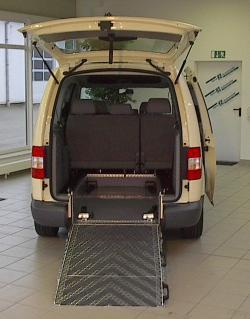 Autogas / LPG / Flüssiggas | Foto: VW Caddy Maxi umgerüstet zum Rollstuhlfahrzeug inkl. AUTOGAS (LPG).
