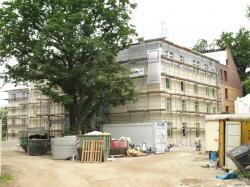 SeniorInnen News & Infos @ Senioren-Page.de | Foto: Das neue Seniorenzentrum mit 83 Einzel- und drei Doppelzimmern entsteht auf dem Gelände der Johanna-Stiftung in der Seeburger Straße in Spandau.