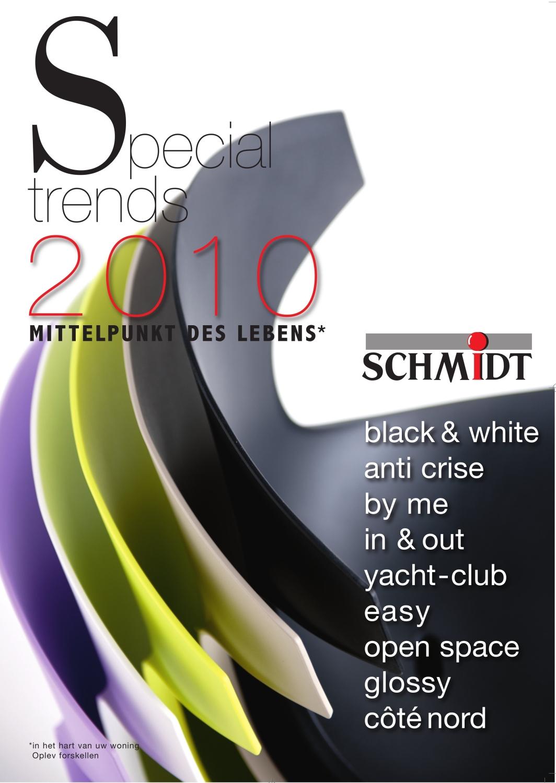 Frankreich-News.Net - Frankreich Infos & Frankreich Tipps | Die neue Broschüre von Schmidt Küchen zeigt  die aktuellen Trends.