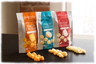 Amerika News & Amerika Infos & Amerika Tipps | Moon Cheese Trockenkäsesnackprodukt von EnWave