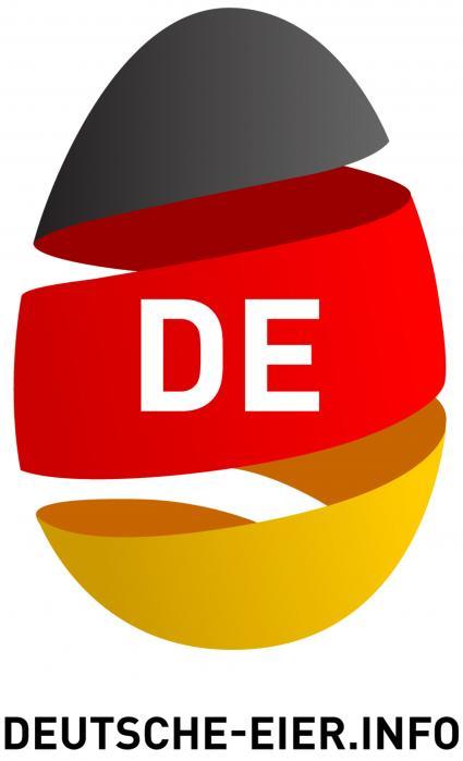 Landwirtschaft News & Agrarwirtschaft News @ Agrar-Center.de | Foto: Um dem Verbraucher noch mehr Orientierung beim Eierkauf zu bieten, hat die vom BDE gegründete IDEi Informationsgemeinschaft Deutsches Ei das >> Deutsche-Ei-Logo << entwickelt.
