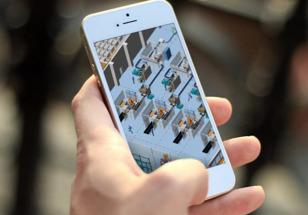 News - Central: 3D-Modelle auf dem Smartphone für den Vertrieb