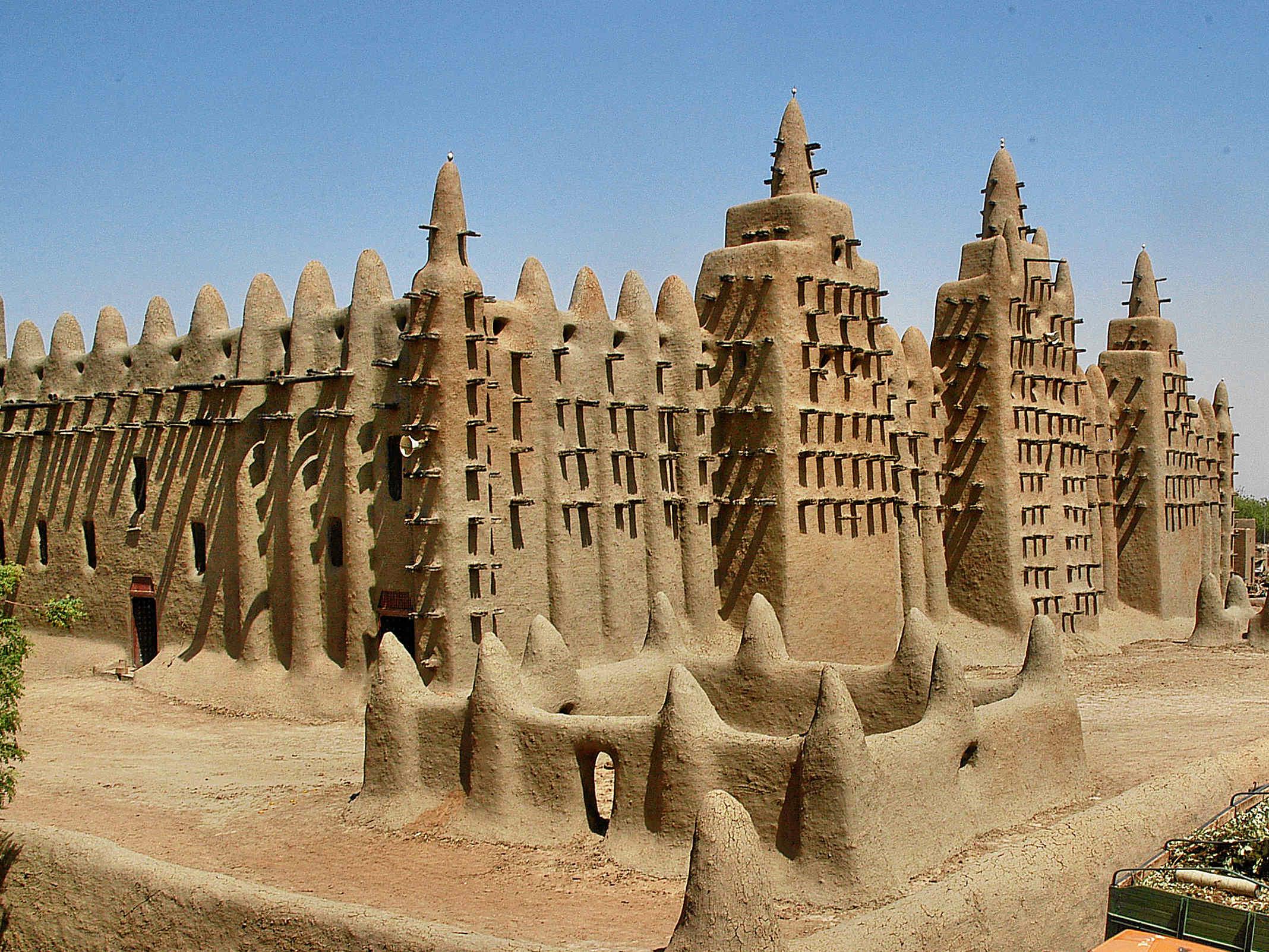 Frankreich-News.Net - Frankreich Infos & Frankreich Tipps | Die Moschee aus Lehm in Djenné (Mali)