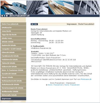 Hamburg-News.NET - Hamburg Infos & Hamburg Tipps | Doris-Fraccalvieri.de