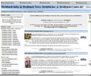 PHPNuke Service DE - rund um PHP & Nuke | Screenshot Drehbuch-center.de