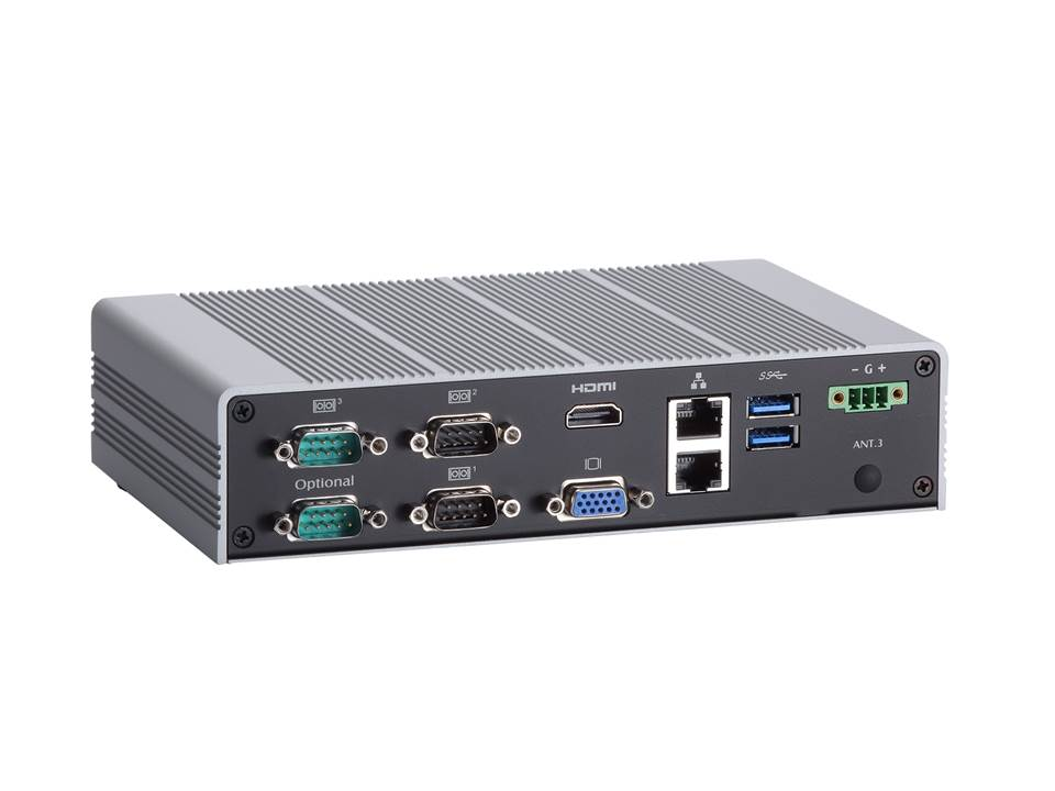 Internet Portal Center | AXIOMTEKs eBOX626-853-FL Lüfterloses Embedded System mit Intel® Celeron® N3150 Prozessor