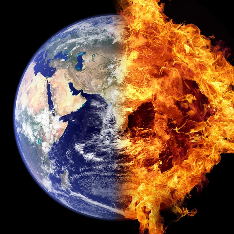 Deutsche-Politik-News.de | Die Erde ist in höchster Gefahr. - Bild von Bela Geletneky (photoshopper24) auf Pixabay