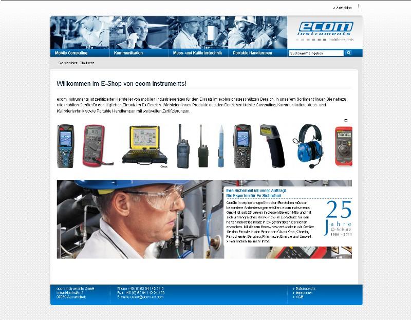 Gutscheine-247.de - Infos & Tipps rund um Gutscheine | Alle Produkte von ecom instruments können ab sofort auch über einen komfortablen Webshop bestellt werden