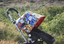 Einkauf-Shopping.de - Shopping Infos & Shopping Tipps | Baby - Portal: Babies & Kids - Foto: Kinderwagenkleider auf www.kinderwagenkleider.de bei miniberliner's UNIQUE FABRICS.