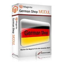 Open Source Shop Systeme | Foto: Das German Shop Modul macht alle Magento-Shops ab der aktuellen Version 1.4 fit für den Einsatz in Deutschland. Nicht nur die Sprache und Steuersätze sondern auch eMail-Texte, statische Seiten und ihre Inhalte werden an die rechtlichen Vorschriften angepasst.