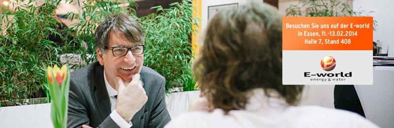 Sachsen-Anhalt-Info.Net - Sachsen-Anhalt Infos & Sachsen-Anhalt Tipps | Geschäftsführer Klaus Arens auf der E-World. (Copyright Kaiserberg Kommunikation GmbH)