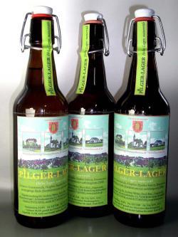 Bier-Homepage.de - Rund um's Thema Bier: Biere, Hopfen, Reinheitsgebot, Brauereien. | Foto: Das >> Pilger-Lager << Bier aus Frommenhausen.