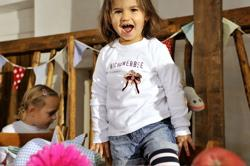 Foto: Shirt für kleine Kichererbsen.