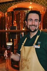 Bier-Homepage.de - Rund um's Thema Bier: Biere, Hopfen, Reinheitsgebot, Brauereien. | Foto: Braumeister Andreas Hegny - erster Braumeister auf einem Kreuzfahrtschiff!