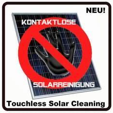 Neue Produkte @ Produkt-Neuheiten.Info | Foto: Kontaktlose Solarreinigungs-Systeme für Solarbetreiber und Solarreiniger.