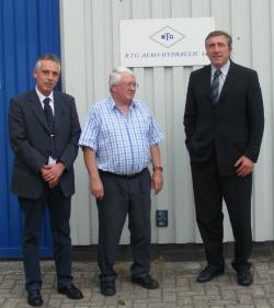 Alternative & Erneuerbare Energien News: Foto: v. l. Uwe Wendler, Peter Lüthge, Uwe Hartmann.